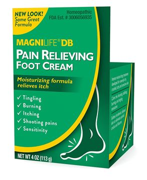 Picture of MAGNILIFE® DB PAIN RELIEVING FOOT CREAM 4 OZ.