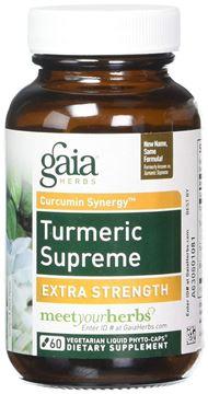 Picture of Gaia Herbs Turmeric Supreme 60 Caps