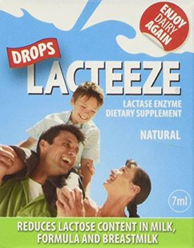 Picture of Lacteeze Drops 7 ml Liquid Enzyme