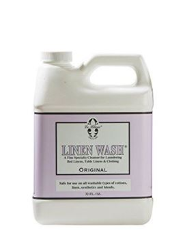 Picture of Le Blanc Linen Wash Classic Scent Clean Vintage Precious Heirloom Linens Safely, One 32 fl oz