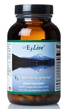 Picture of E3 Enzymes Supreme 120 count 1 bottles