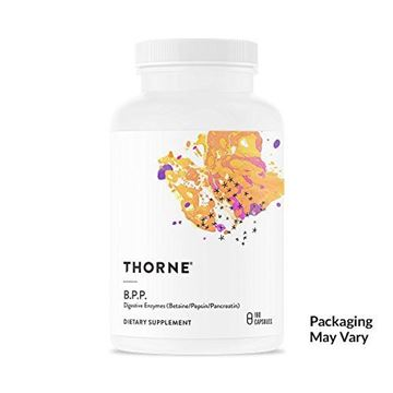 Picture of Thorne Research - B.P.P. (Betaine/Pepsin / Pancreatin) - Comprehensive Blend of Digestive Enzymes - 180 Capsules