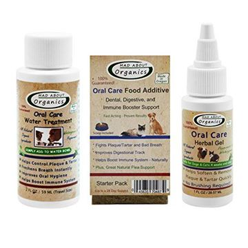 Picture of Mad About Organics All Natural Dog & Cat Oral Care Dental Plaque Remover Starter Kit