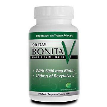 Picture of Bonita V Hair Skin Nails - 90 Day Supply - Vegetarian Tablets