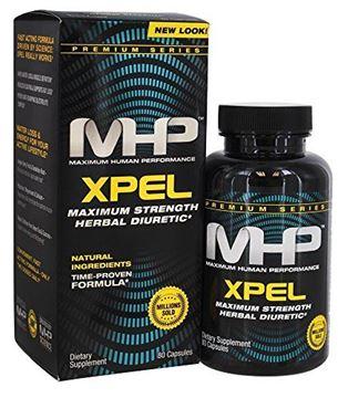 Picture of MHP Xpel Dietary Supplement - Maximum Strength Diuretic, 80 Capsules