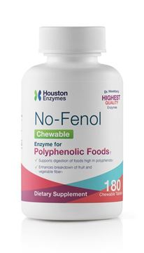 Picture of Houston Enzymes No-Fenol Chewables 180 tablets (90 doses)