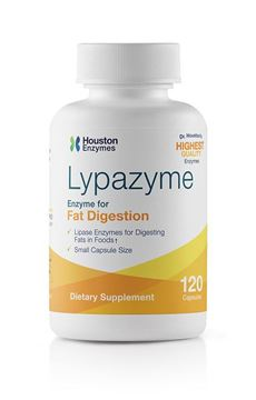 Picture of Houston Enzymes Lypazyme 120 capsules (120 doses)
