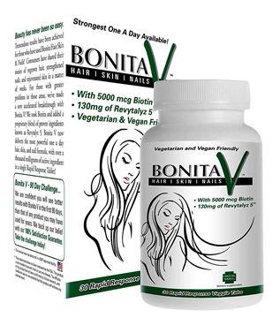 Picture of Essential Source Bonita V - Hair Skin and Nails - 30 Vegetarian Tablets
